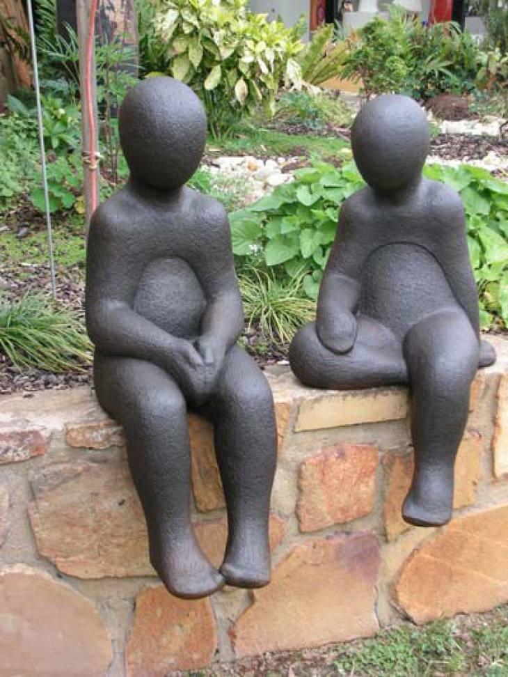 Children Chatting